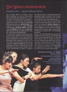 Kulturprogramm Nibelungenfestspiele 2014